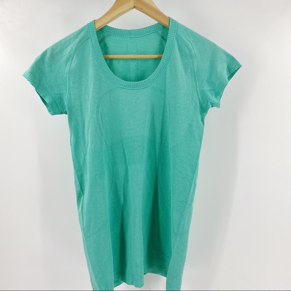 Lululemon run swiftly tech short sleeve teal